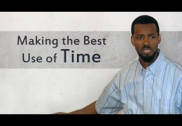 Making the Best Use of Time – Tawfiq Cotman-El