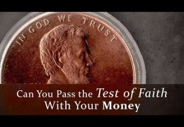 The Test of Faith With Your Money – Tim Conway
