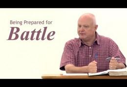 Being Prepared for Battle – John Sytsma
