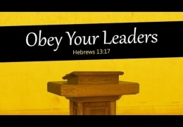 Obey Your Leaders – Tim Conway