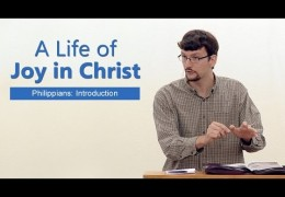 A Life of Joy in Christ – James Jennings