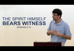 The Spirit Himself Bears Witness – James Jennings