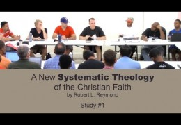 Men's Systematic Theology Study #1 – Tim Conway