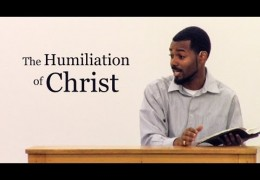 The Humiliation of Christ – Tawfiq Cotman-El