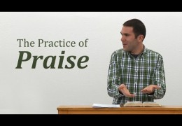 The Practice of Praise – Ves Chancellor
