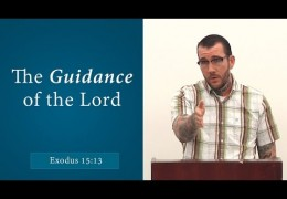 The Guidance of the Lord (Exodus 15:13) – Matthew McDonnell