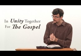 In Unity Together For the Gospel – James Jennings