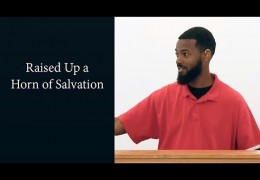 Raised Up a Horn of Salvation – Tawfiq Cotman-El