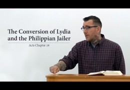 The Conversion of Lydia and the Philippian Jailer – Matthew McDonnell