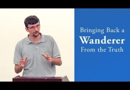 Bringing Back a Wanderer From the Truth – James Jennings