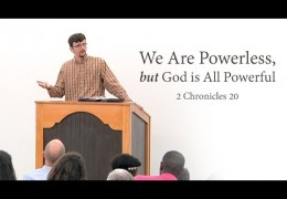 We Are Powerless, but God is All Powerful – James Jennings