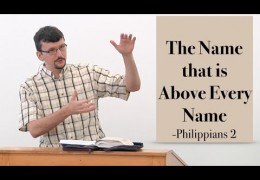 The Name that is Above Every Name – James Jennings