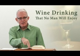 Wine Drinking That No Man Will Enjoy – Jeff Peterson
