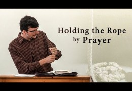 Holding the Rope by Prayer – James Jennings