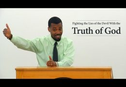 Fighting the Lies of the Devil With the Truth of God – Tawfiq Cotman-El