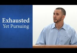 Exhausted Yet Pursuing – David Berard