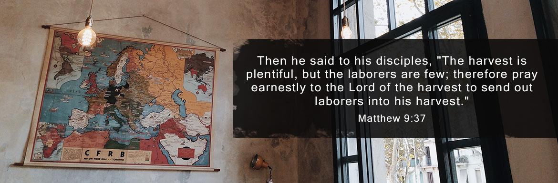 Matthew 9:37-38 - Missions