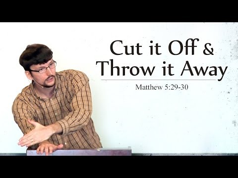 Image result for cut off your right hand and throw it from you